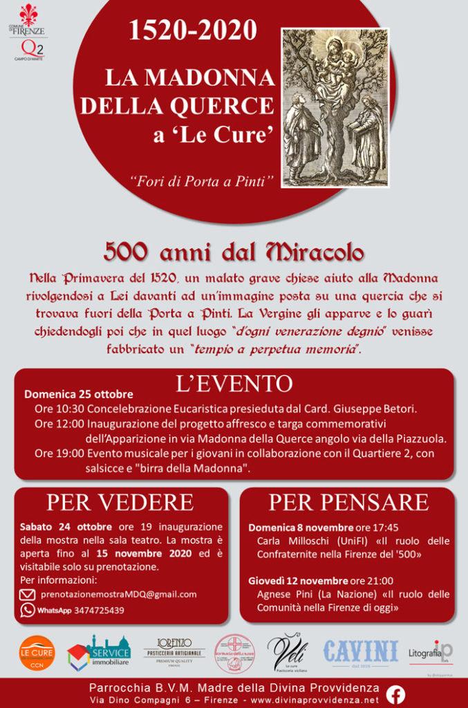 500 anni miracolo Madonna della querce 3