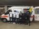 Misericordia dell'Antella dona all'ex calciatore della Fiorentina Babacar ambulanza per il Senegal