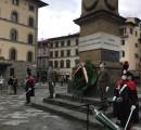 Celebrata a Firenze la Festa dell'Unità Nazionale e Giornata delle Forze Armate 4 novembre 2020