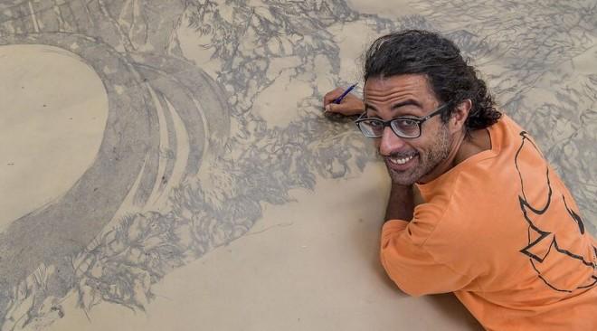 La Divina Commedia in 97 metri: l'opera filandese dell'italiano Enrico Mazzone
