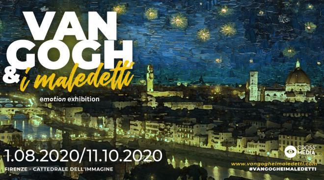 """Riapre fino a Pasquetta la mostra multimediale """"Van Gogh e i Maledetti"""""""