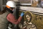 Restauro mosaici Battistero 2021 - foto Giornalista Franco Mariani (23)