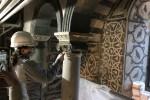 Restauro mosaici Battistero 2021 - foto Giornalista Franco Mariani (26)