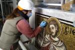 Restauro mosaici Battistero 2021 - foto Giornalista Franco Mariani (55)