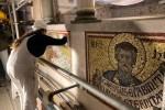 Restauro mosaici Battistero 2021 - foto Giornalista Franco Mariani (62)