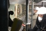 Restauro mosaici Battistero 2021 - foto Giornalista Franco Mariani (7)