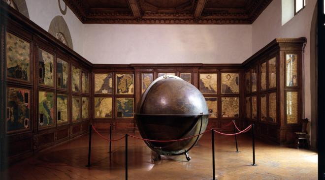Al via, per la prima volta, il restauro della Sala delle carte geografiche e del mappamondo di Palazzo Vecchio