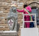 Dopo secoli Firenze rincorona il Marzocco in occasione delle feste del Santo Patrono