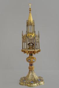 Reliquiario con reliquia di San Giovanni Battista